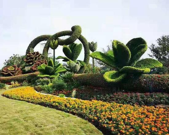 五色草植物造型